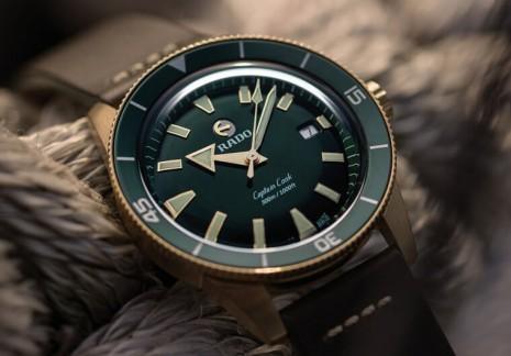 價格十萬有找 雷達推出青銅材質Captain Cook庫克船長手錶
