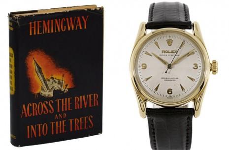 海明威、村上春樹等知名文學家曾在作品裡提到高級手錶