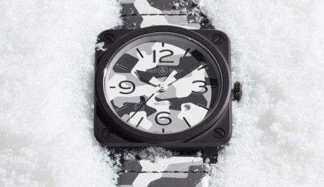 柏萊士BR03-92 White Camo以雪地迷彩設計詮釋時尚軍風