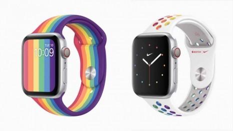 蘋果迷照過來! Apple Watch彩虹特別版價格不變