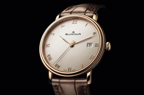 寶珀全新Villeret Ultraplate超薄錶一次推出不鏽鋼與玫瑰金等多種款式