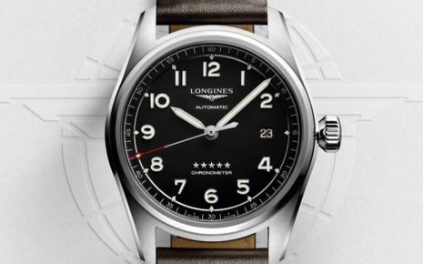 浪琴全新Spirit系列向探險精神致敬 新款包括大三針或計時錶均搭載矽游絲機芯