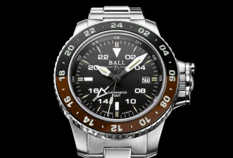 BALL WATCH AeroGMT II雙色錶圈大集合 再添咖啡與黑新色