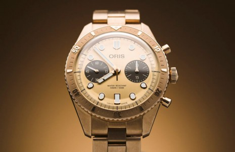 ORIS出青銅潛水錶不稀奇 但搭配青銅鍊帶還真的第一次看到