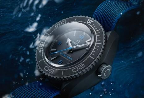 歐米茄這只創紀錄的海馬潛水錶防水性是超誇張的15000米
