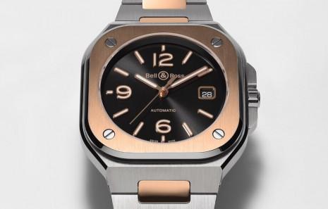 柏萊士BR05持續改款 半金錶殼展現都會貴氣風格