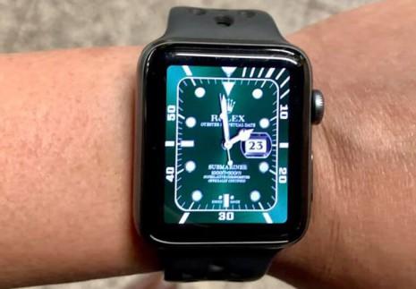 將Apple Watch變成PP勞力士的方法