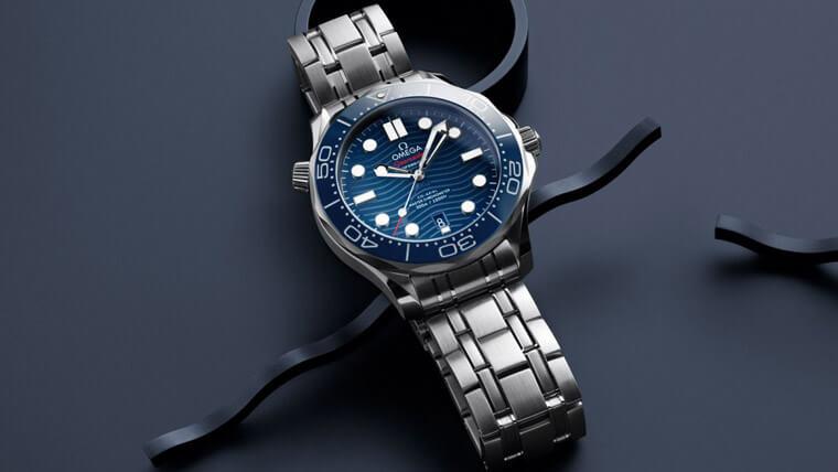 欧米茄海马家族水性好 尤其600米潜水表专业规格