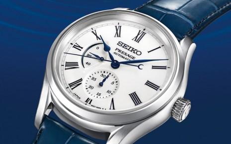SEIKO Presage有田燒面盤手錶推出第二彈水月主題