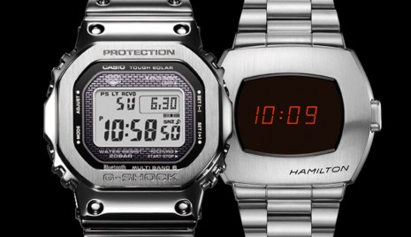 2萬元不鏽鋼電子錶推薦  G-SHOCK和漢米爾頓PSR跳字錶風格大不同