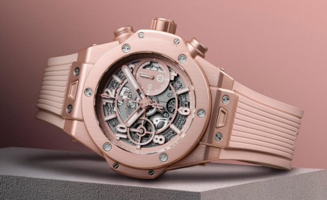 宇舶這款Big Bang非玫瑰金錶殼 而且還是限量聯名款