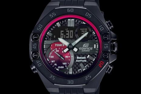 卡西歐EDIFICE 20週年再推紀念錶 新款與超級方程式TOM'S車隊聯名