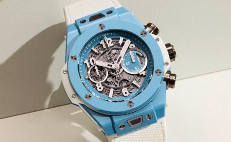 Big Bang陶瓷殼又有新色 天藍色計時碼錶超有夏日活力感