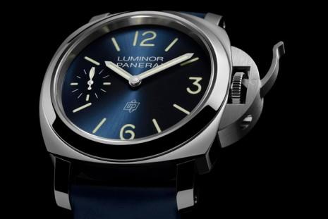 沛納海藍面手錶又一發 新作1085是鋼殼搭手上鍊機芯