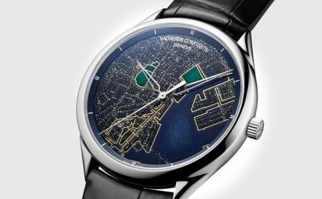 江詩丹頓藝術大師光之城新款再用內填琺瑯描繪東京夜景