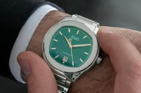 伯爵Polo運動錶孔雀綠2020改不鏽鋼鍊帶限量再出擊