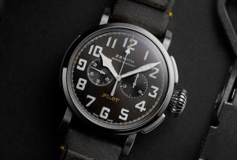 真力時Pilot系列不鏽鋼新作再現20世紀初飛行錶復古精髓