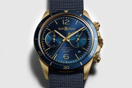 柏萊士圓殼BR V2系列推出代表海洋主題的青銅計時碼錶
