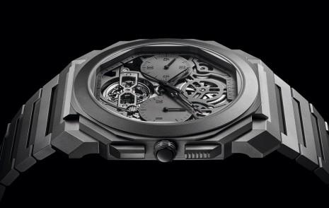 寶格麗OCTO Finissimo鏤空計時陀飛輪7年內第6度創下超薄錶紀錄