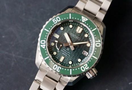 20萬以內潛水錶推薦 SEIKO LX Line綠水鬼面盤很特別又是限量款