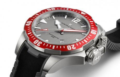 漢米爾頓Khaki Navy蛙人潛水錶2020年換上灰面展現時尚態度
