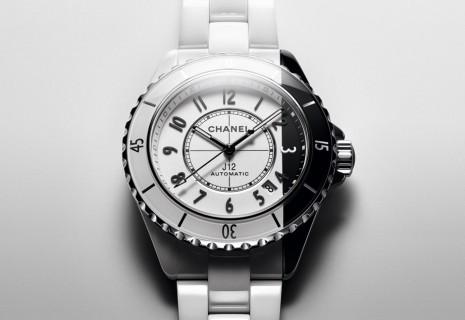 2020香奈兒陶瓷熱門錶之一 :黑白雙色 J12 Paradoxe