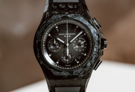 GP芝柏表Laureato新作採用高科技玻璃碳錶殼 重量輕得出人意料