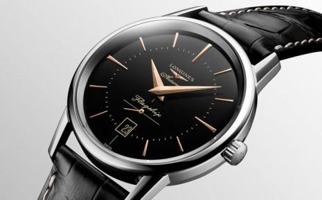 浪琴表經典正裝錶獲古董錶啟發復刻黑面造型
