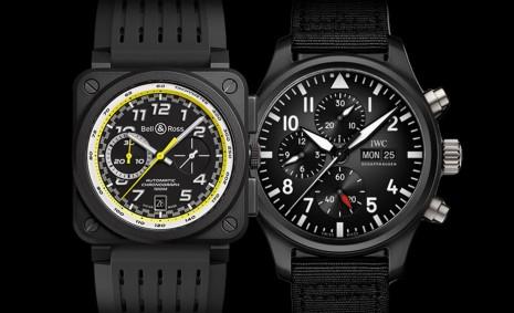 20萬左右想買有個性的黑陶瓷計時錶  柏萊士、萬國二款比較