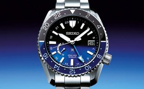 SEIKO Prospex LX兩地時間新錶以太空為靈感換上漸層面盤