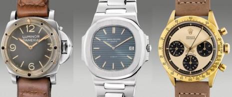 稀有黃金Paul Newman和勞力士機芯的沛納海古董錶即將拍賣
