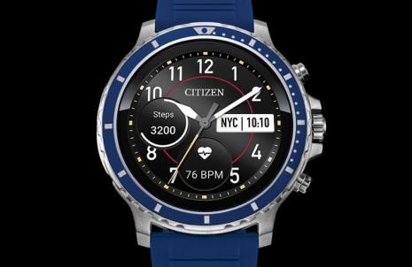 搶食Apple Watch市場大餅 CITIZEN旗下首款智能錶現身
