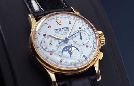佳士得紅寶石系列拍賣 數款PP手錶刷新同型號身價紀錄