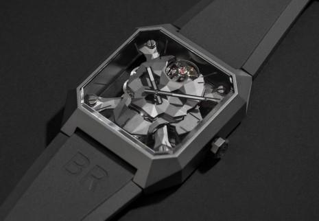 柏萊士骷髏頭手錶改換陶瓷殼 設計也更富3D立體感