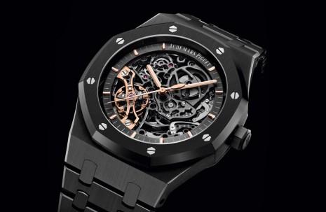 AP皇家橡樹雙擺輪首度出現黑色陶瓷錶殼
