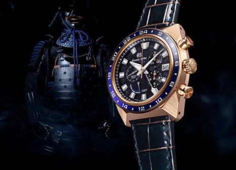 以日本武士勝色甲冑為靈感的限量頂規Spring Drive手錶