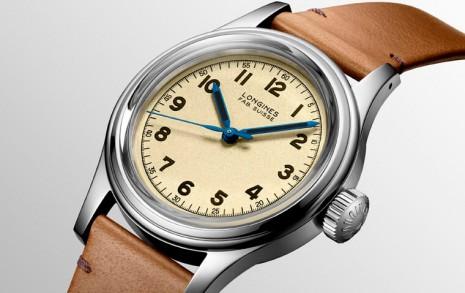 浪琴表復刻系列重現20世紀中期法國海軍專用手錶