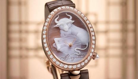 寶璣繼Classique系列後再推那不勒斯貝殼浮雕牛年生肖錶