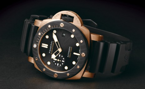 價格逼近百萬 沛納海PAM1070罕見用紅金錶殼搭碳纖維錶圈