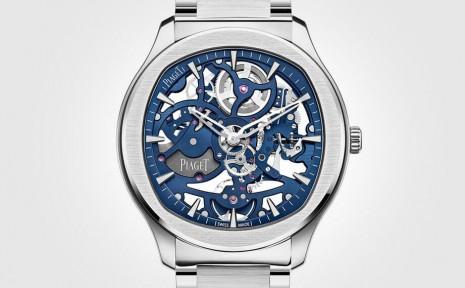 伯爵Polo系列首度發表鏤空超薄鋼殼手錶