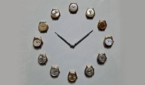 這畫面太美!收藏家神來一筆的「古董名錶時鐘」
