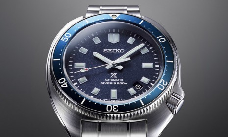 SEIKO以Prospex復古潛水錶向登山界傳奇植村直己致敬