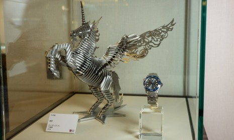 高登鐘錶「時間的淬鍊」展覽跨界結合手錶和藝術品讓人大飽眼福