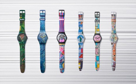 SWATCH致敬現代藝術攜手MoMA發表特別版腕錶