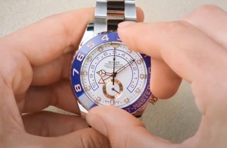 一次看懂勞力士帆船賽專用計時錶Yacht-Master II如何調校運作