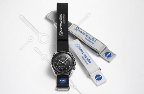 跟超霸登月錶超搭的NASA魔鬼氈錶帶