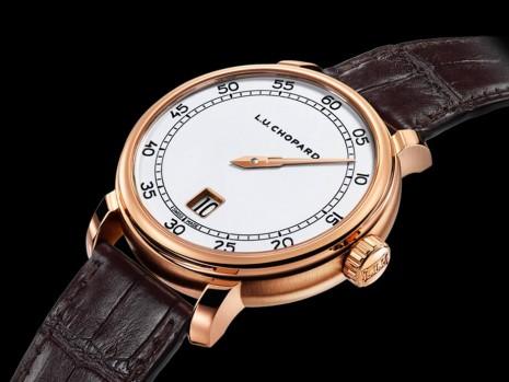 蕭邦L.U.C限量新作為品牌首款跳時錶,蘊含獨特週年意義