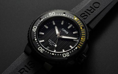 ORIS新款AquisPro潜水表再次搭载保固10年的Calibre 400