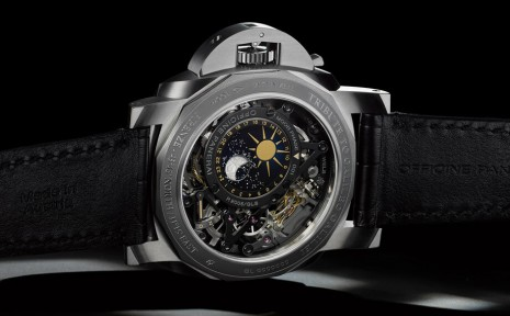超級月亮盡收眼底!沛納海高複雜功能月相手錶PAM00920