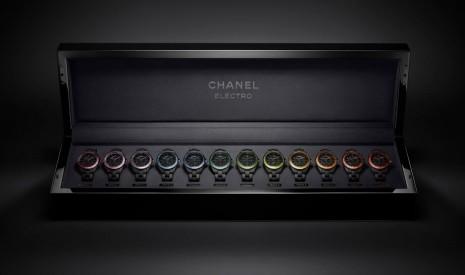 香奈兒2021年J12 Electro Box套組腕錶一次看